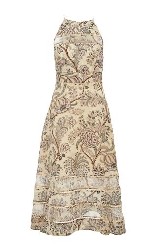 Medium zimmermann floral adorn halter dress