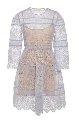 Medium zimmermann light blue adorn mini dress