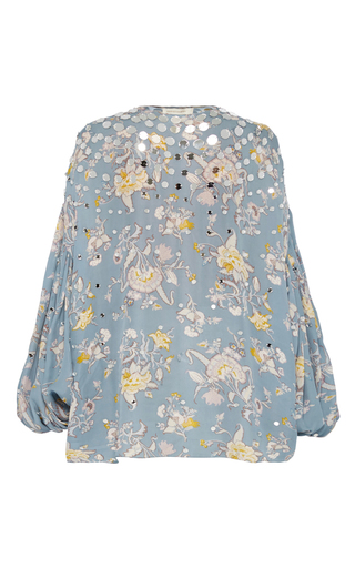 Medium zimmermann floral adorn embellished blouse