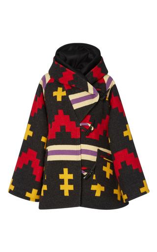 Medium lindsey thornburg red lindsey thornburg multicolored cloak  3