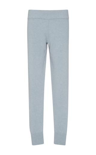 Blue Maicol Cashmere Slim Pants by VALENTINA KOVA Now Available on Moda Operandi
