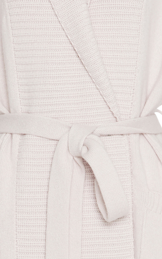Pink Lucas Cashmere Cardigan by VALENTINA KOVA Now Available on Moda Operandi