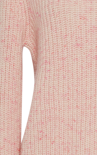 Cotton Candy Ribbed Cashmere Turtleneck by ORLEY Now Available on Moda Operandi