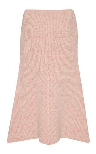 Ribbed Cashmere A Line Skirt by ORLEY Now Available on Moda Operandi