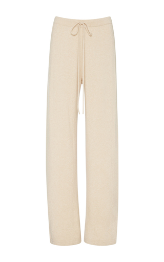 Medium zynni ivory cashmere lounge pants