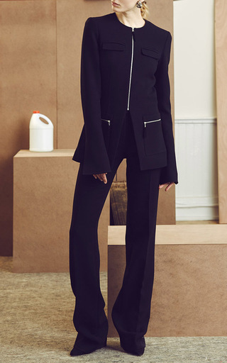 Lean Flare Trousers by PROTAGONIST Now Available on Moda Operandi