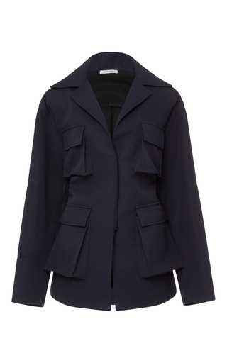 Canvas Utility Jacket by PROTAGONIST Now Available on Moda Operandi