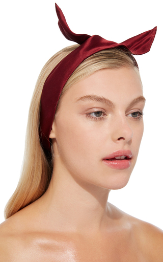 Red Fork Headband by YUNOTME Now Available on Moda Operandi