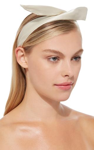 Ivory Fork Headband by YUNOTME Now Available on Moda Operandi