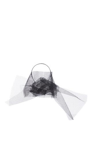 Medium yunotme black comet tulle headband