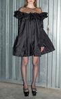 Ruffled Taffeta Combo Dress  by ISA ARFEN Now Available on Moda Operandi