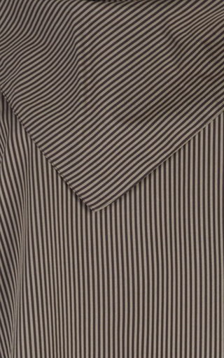 Striped Scarf Top  by ISA ARFEN Now Available on Moda Operandi