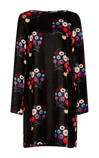Medium tanya taylor floral floral velvet georgia dress