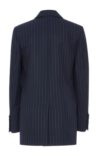 Double Breasted Pinstripe Blazer by BLAZé MILANO Now Available on Moda Operandi