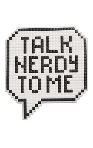 Medium anya hindmarch white oversized talk nerdy sticker