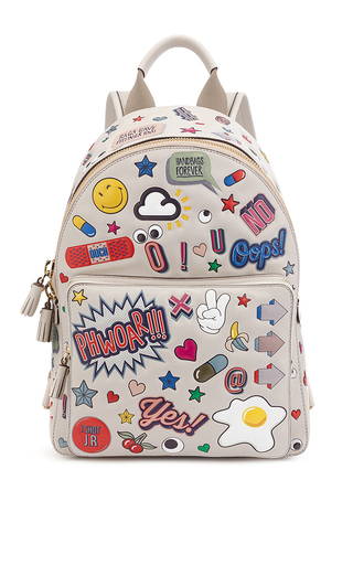 Medium anya hindmarch white mini all over wink backpack