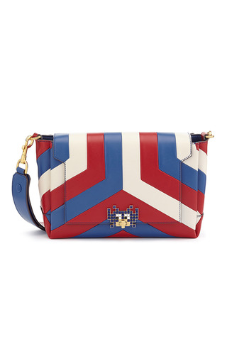 Medium anya hindmarch multi arcade stripe bathurst crossbody