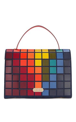 Medium anya hindmarch multi bathurst giant pixels satchel