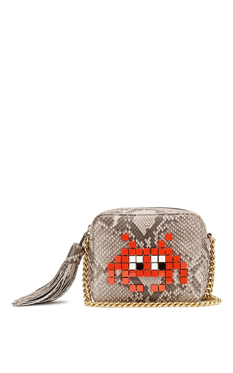 817621b6146 Space Invader Crossbody bag by Anya Hindmarch   Moda Operandi
