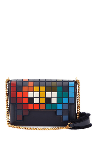 Medium anya hindmarch multi ephson invader shoulder flap bag