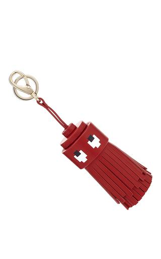 Medium anya hindmarch red ghost tassel  2