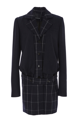 Medium marissa webb plaid max plaid teresa wool jacket
