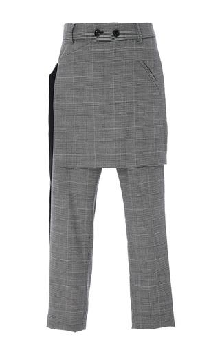 Medium marissa webb plaid kori plaid apron pants