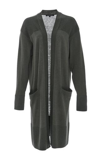 Medium marissa webb khaki xavier sweater cardigan