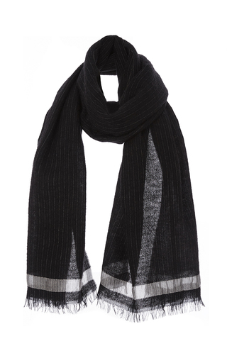 Medium marissa webb stripe mandy pinstripe scarf