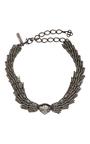 Wistera Crystal Necklace by OSCAR DE LA RENTA Now Available on Moda Operandi
