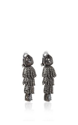 Wisteria Drop Earrings by OSCAR DE LA RENTA Now Available on Moda Operandi