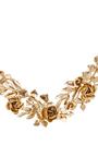Wreath Necklace by OSCAR DE LA RENTA Now Available on Moda Operandi