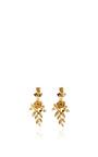 Rose And Leaf Vine Earrings by OSCAR DE LA RENTA Now Available on Moda Operandi