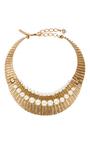 Gold Princess Necklace by OSCAR DE LA RENTA Now Available on Moda Operandi