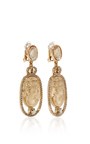 Portrait Drop Earring by OSCAR DE LA RENTA Now Available on Moda Operandi