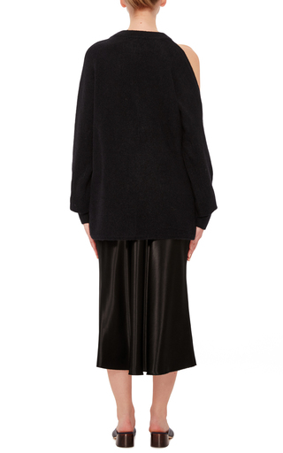 Cutout Shoulder Sweater by TIBI Now Available on Moda Operandi