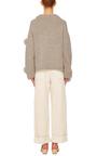 Alpaca Pom Pom Sweater by TIBI Now Available on Moda Operandi