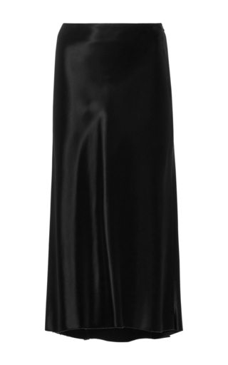 Medium tibi black amoret midi skirt
