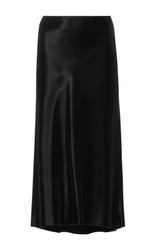 Medium tibi black amoret midi skirt