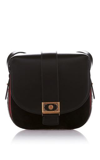 Medium etro black small postman bag
