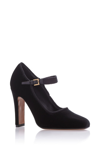 Medium etro black mary jane heels  5