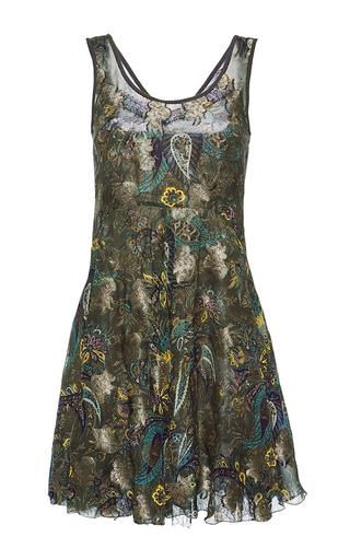 Medium etro print sleeveless mini dress