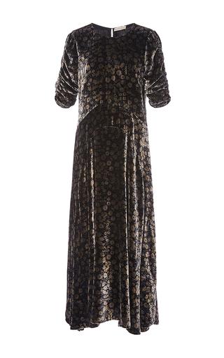 1a3a38617c2a Liane floral Velvet Midi Dress by Rebecca Taylor