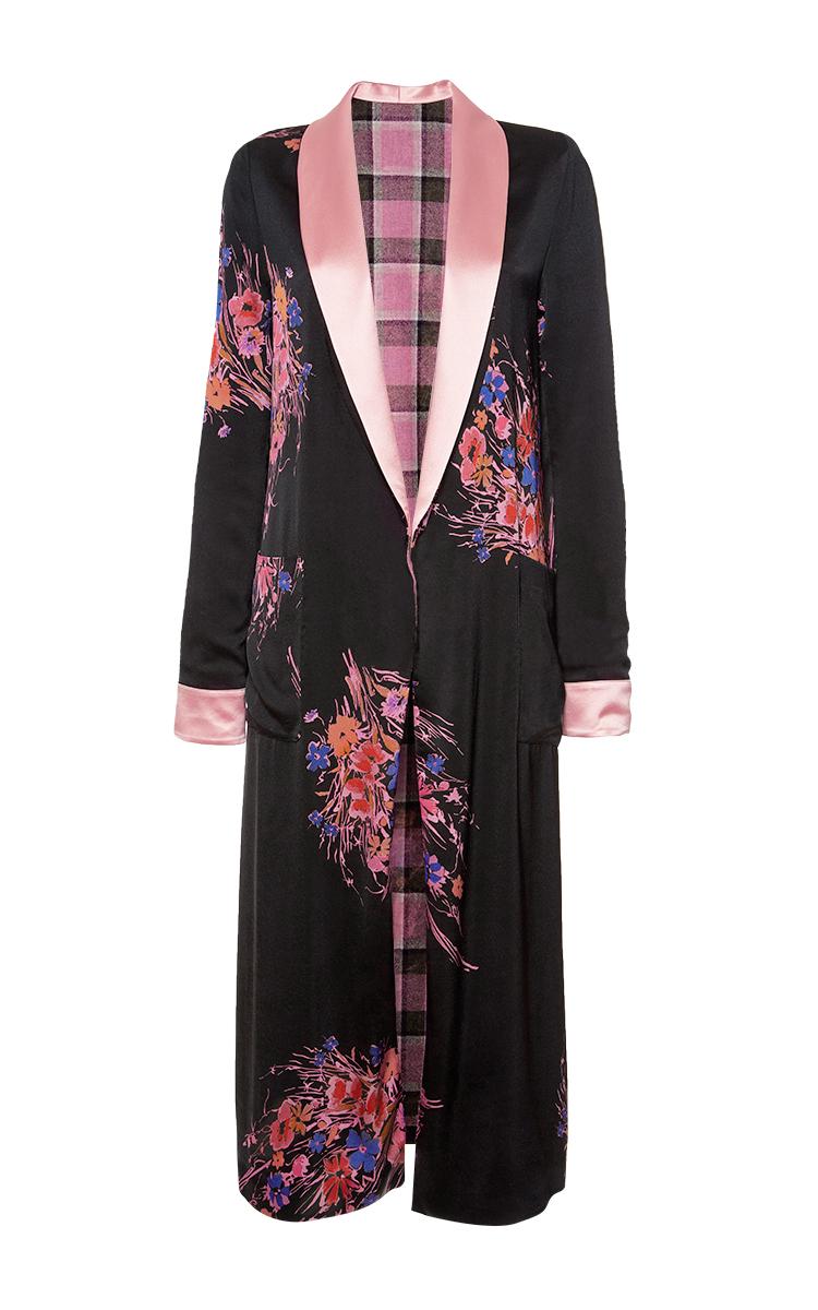 5b2cc92daf1 Reversible Silk Robe Coat by Etro | Moda Operandi