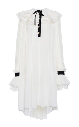 Medium philosophy di lorenzo serafini off white allover pleated mini dress