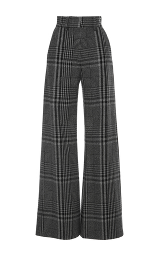 Medium vilshenko plaid heidi high waisted wide leg pant