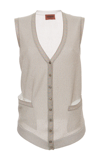 Medium missoni off white off white lame vest