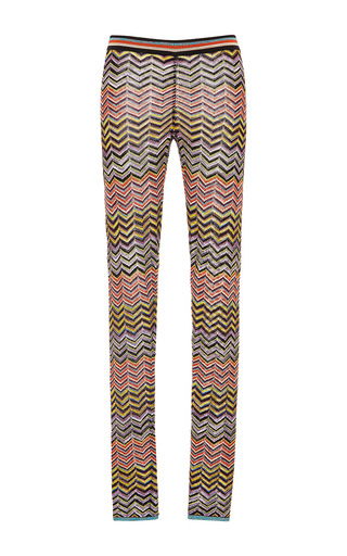 Medium missoni multi zig zag lame leggings
