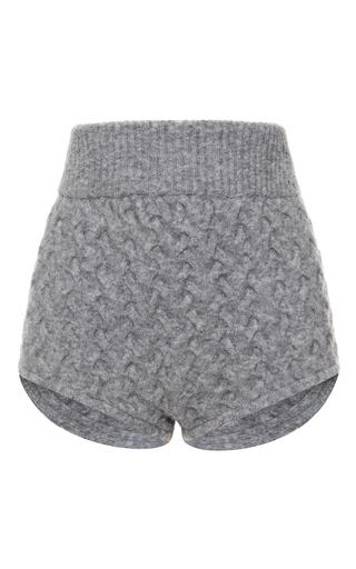 Medium blumarine light grey high waisted mini shorts
