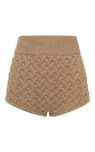 Medium blumarine tan high waisted mini shorts  2
